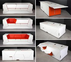 1000 images about muebles transformables on pinterest for Muebles transformables
