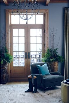It's My Dream Home Except For One Problem- The Wood Trim - laurel home Classic Living Room, My Living Room, Living Spaces, Living Area, Room Colors, House Colors, Colours, Interior Paint Colors, Interior Design
