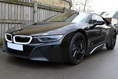 BMW #i8 wrapped in g...