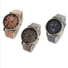 Woodchuck Wood Grain Style Exotic Watches - Watches