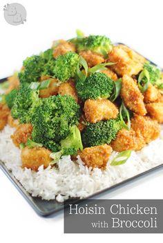 Hoisin Chicken with Broccoli   BluegrassBites.com