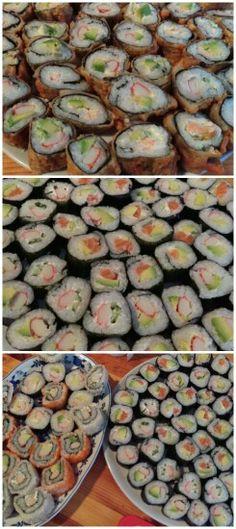 Sushi hausgemacht