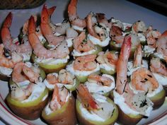 Herbed Potatoes with Thyme Shrimp