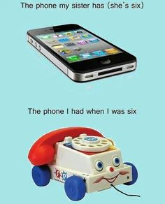 Hey, my old phone...and a phone I've been been considering recently!