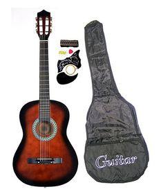 Look at this #zulilyfind! Coffee 38'' Acoustic Guitar Set #zulilyfinds