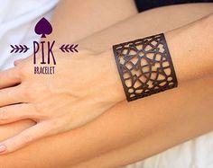 PRECIO CALIENTE Pulseras de cuero de cuero pulsera por PikBracelet
