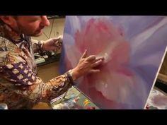 Уроки рисования для взрослых Художник Игорь Сахаров - картина маслом алла-прима - YouTube
