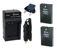 ClearMax Two (2) EN-EL9 / ENEL9 High Capacity Batteries and Multi Voltage Charger For Nikon D40, D40x, D60, D3000, D5000 Digital SLR Cameras by Clear Max. $21.95. This kit is fully compatible with Nikon D40, D40x, D60, D3000, D5000 Digital SLR Cameras.The Mini Rapid Multi Voltage Charger plugs directly in to your wall outlet or your car's cigarette lighter and charges your Nikon battery in approximately 60 to 90 minutes. Its unique flat pin, foldable design all...