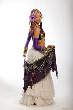 RESERVED for YONI Tribal Belly Dance Belt Hip by DancingTribe