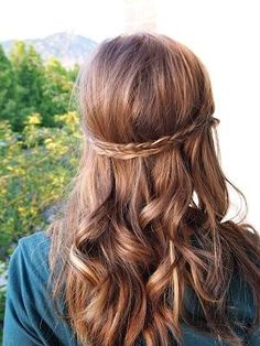 two braids long hair - Hairstyles and Beauty Tips