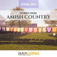 Stories from Amish Country: Spring 2015
