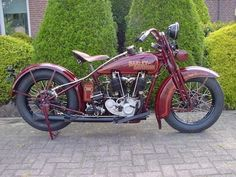 1928 Two Cam - Vintage Harley Davidson Motorcycles