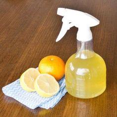 lave vitres au citron