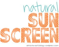 natural sunscreens (& why you NEED to switch)** Very interesting!  Want to try to make my own #sun #summer #suncreen #skinhealth #naturalskincare #herbalremedy #health #wellness | www.HarmonyHerbal.com