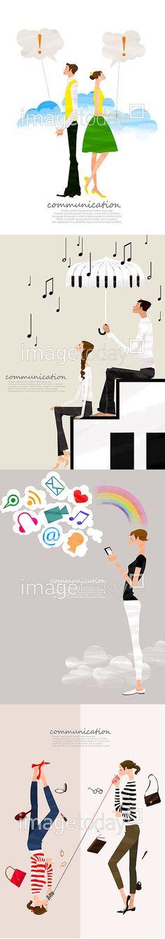 소통을 주제로 한 일러스트 (더 많은 디자인을 보려면 이미지를 클릭해주세요!)  ********** 통로이미지(주) 팀장급의 그래픽디자이너 모집중!! 관심있는 분들은 notice 보드를 확인해주세요! **********  #이미지투데이 #imagetoday #클립아트코리아 #clipartkorea #통로이미지 #tongroimages   남자 느낌표 말풍선 페인터 프레임 분할 뷰티 사람 소통 우정 여자 캐릭터 컨셉 친구 통화 패션 커뮤니케이션 스마트폰 무선통신 계단 사랑 음악 음표 man exclamation mark painter frame beauty human communication friendship illust illustration woman character concept friend calling fashion smartphone stair love music note