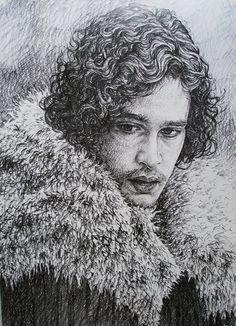 Jon Snow by AlexndraMirica on DeviantArt