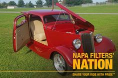 Explore NAPA Filters full line of automotive oil, air, fuel, and cabin air filters for any type of vehicle on the official site of NAPA Filters Mustangs, Troy, Old Cars, Custom Cars, Exotic Cars, Vintage Cars, Hot Rods, Chevy, Classic Cars