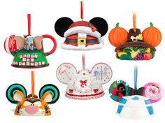 The Purple Pumpkin Blog: Mickey Ears Hat Christmas Ornaments Limited Edition!! #Want!