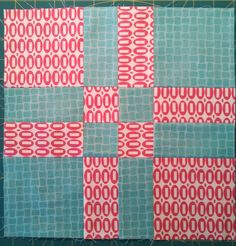 Big Nutty Quilter - Disappearing 4-patch block variation tutorial