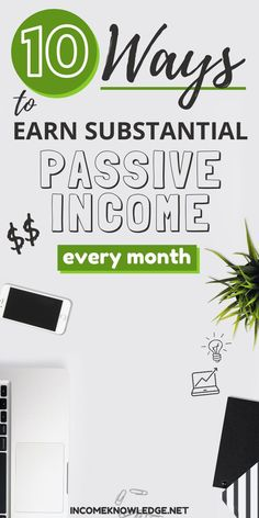 Whether you're looking to reach financial freedom or just looking to make extra money, earning passive income is something to think about starting nowadays. Earn Extra Income, Extra Money, Investing Money, Saving Money, Becoming A Blogger, Passive Income Streams, Way To Make Money, How To Make, Making Extra Cash