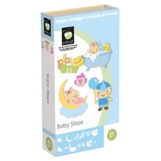 Provo Craft & Novelty Cricut Baby Steps Cartridge item 2000595. Includes (1) cartridge, (1) keypad overlay and (1) handbook for up to (700) images! $17.50
