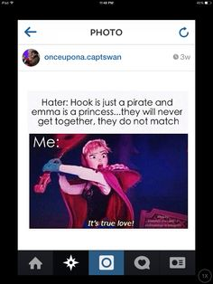 Anna knows what's up. After all, she did marry Kristoff. This just proves it <3