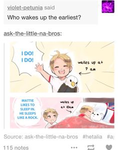 I am Matt, Matt is me << same. I bet alfred sleeps like a rock too, he's just so full of energy that he gets up early
