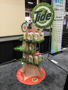 Tide Free Standing Unit - Looking to get noticed with your point of sale display in a busy, fast-paced retail environment? Increase confidence in your sales with www.popthis.com.au