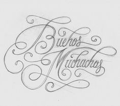 Beautiful Calligraphy by Wanda Pot | Abduzeedo Design Inspiration & Tutorials