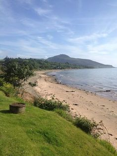 Sandbraes Beach, Whiting Bay, Isle of Arran, Scotland.