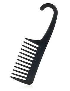 Only use a wide tooth comb to brush hair.