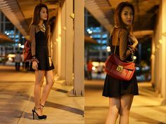 Black on a Beautiful Night (BMS) (by Laureen Uy) http://lookbook.nu/look/3650951-Black-on-a-Beautiful-Night-BMS