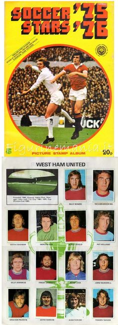 This was the holy grail of my sticker album collection as I genuinely believed The Hammers were on a crest of a wave. Football Stickers, West Ham, Soccer, How To Get, Memories, Entertaining, Album, Baseball Cards, Badges