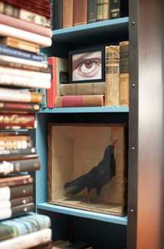 the style saloniste: Wilde Child: Ken Fulk's Magical Loft Vintage Books, Vintage Decor, Ken Fulk, Built In Wall Units, Magical Home, Shock And Awe, Steampunk House, Ivy House, Decorative Objects