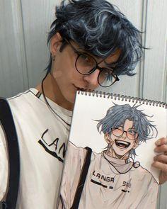 Cute Art Styles, Cartoon Art Styles, Anime Drawing Styles, Art Sketches, Art Drawings, Arte Fashion, Digital Art Tutorial, Art Reference Poses, Art Sketchbook