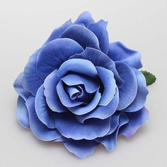 2016 Blue Hot Sale Women Charming Bridal headwear Rose Flower Hairpin Wedding Bridesmaid Party Accessories Hair Clip