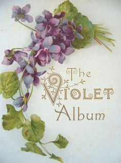 Sweet violets, sweeter than all the roses. Covered all over from head to toe, covered all over in sweet violets. Vintage Cards, Vintage Postcards, Vintage Images, Etiquette Vintage, Flower Cart, The Violet, Sweet Violets, Small Bouquet, Language Of Flowers