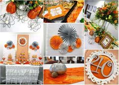Orange and Silver Bank 40th Anniversary Party | CatchMyParty.com