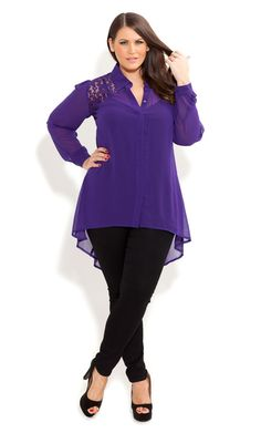 Plus Size Fashion - It is sad this is labeled plus size. Nonetheless cute!