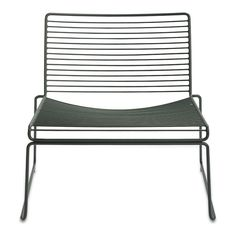 Hay - Hee Lounge Chair, racing green Schwarzgrün (RAL 6012) T:67 H:67 B:72