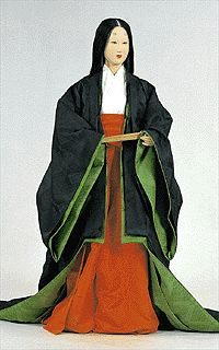 Court lady's everyday wear for summer at Insei period in latter term of Heian era.