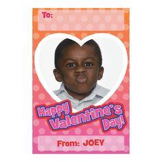 Personalized Photo Small Valentine Card -  $14.99 24 Piece(s)