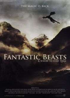 Fantastic Beasts & Where to Find Them -- This cannot come out soon enough for Potterheads!