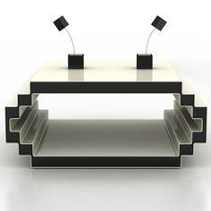 Cool 8-Bit Geek Coffee Table