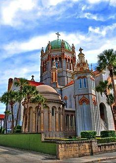 Church in St. Augustine, Florida U.S.A.