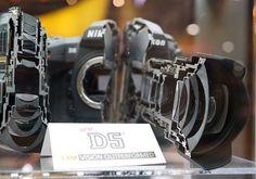Nikon D5 partida ao meio