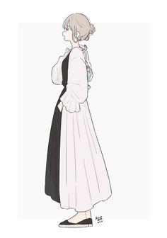 Manga Illustration, Character Illustration, Anime Art Girl, Manga Girl, Kawaii Girl, Kawaii Anime, Tmblr Girl, Character Art, Character Design
