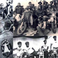 Black Outlaw Motorcycle Clubs | Chosen Few Biker Banner Black Biker Exhibition