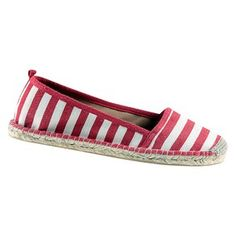 Maddy Espadrille Stripe, $59, now featured on Fab.