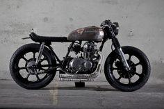 Kawasaki Motorcycle - Not so new '83 Kawi 440 LTD So simple, and yet, so cool.